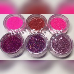 Kit Paillettes Glitter Girly