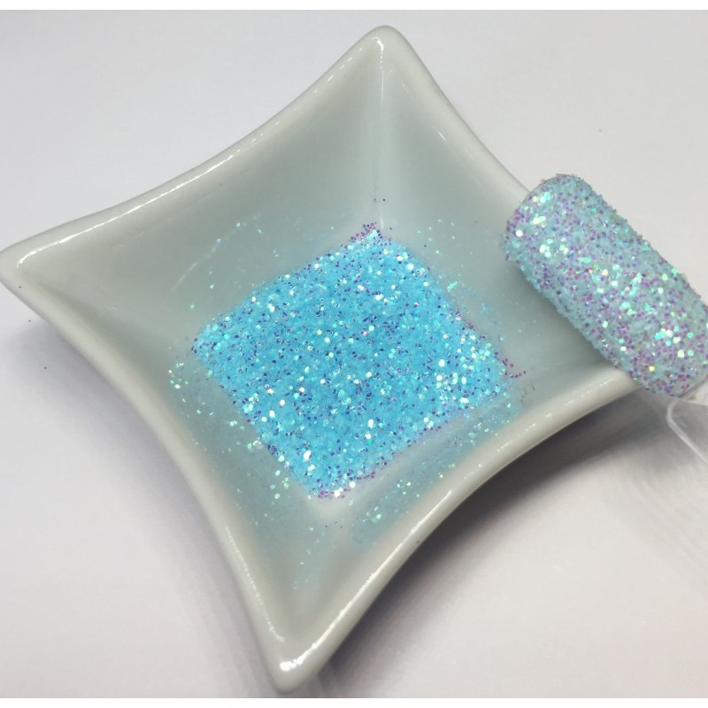 Glitter Galaxy Bleu Turquoise