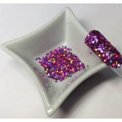 Glitter Girly Crunchy Irisé