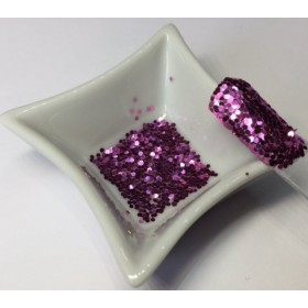 Glitter Girly Crunchy Lilas