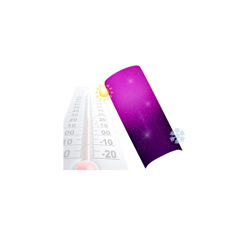 Gel Couleur Thermo Violet Pink