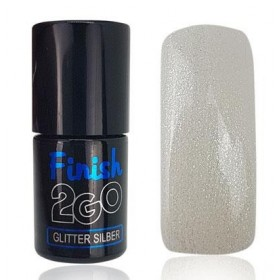Finition 2Go Glitter Silver