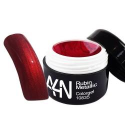 Gel couleur Trendline Rouge Rubis Métallisé