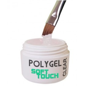 Polygel Soft Touch Clear 15ml