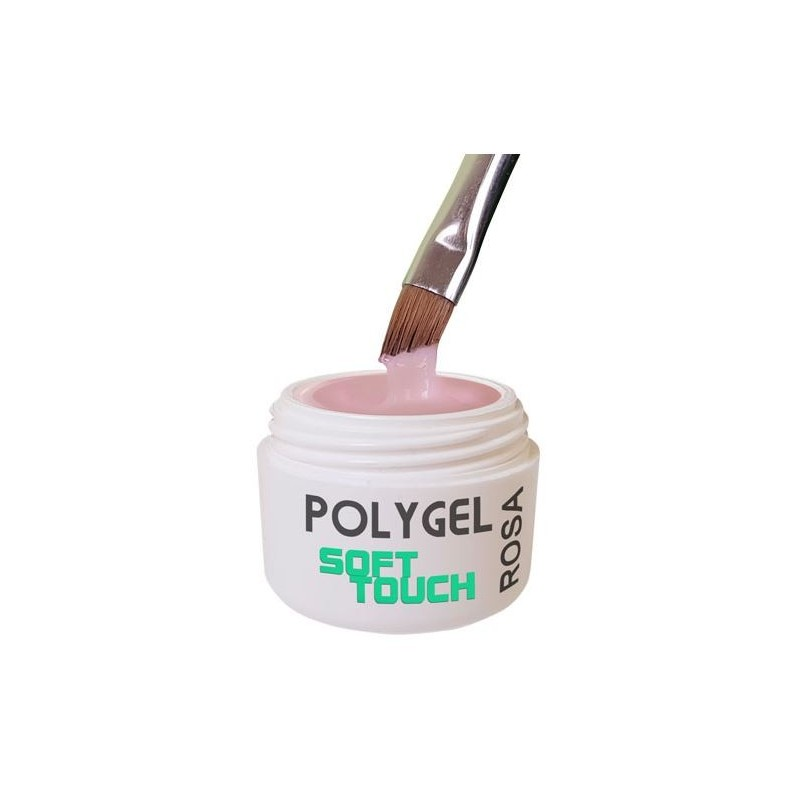 Polygel Soft Touch Rosa