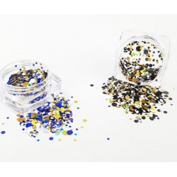 Glitter Dots Mix Le Set