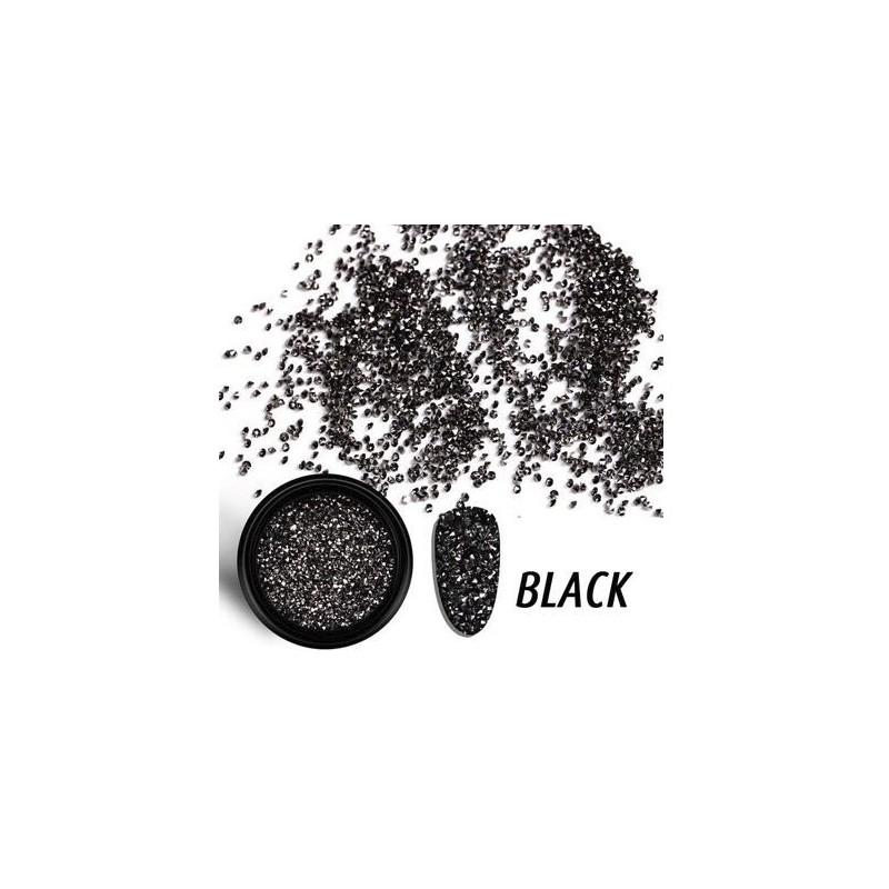 Micro-Strass Noir