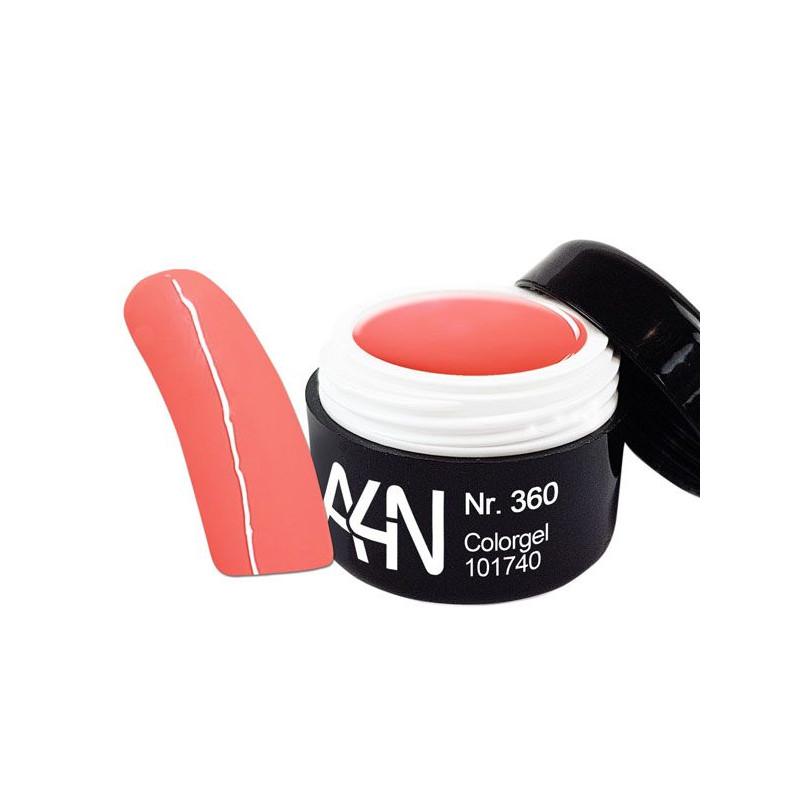 Gel couleur 360 Salmon Pink