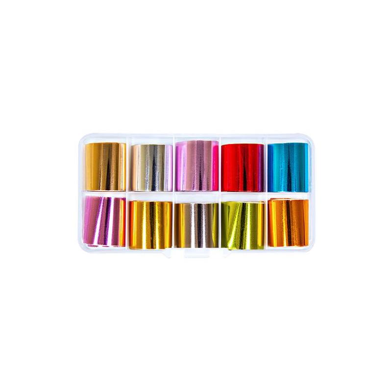 Kit Nailart Foils 1