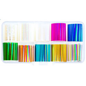 Kit Nailart Foils 3