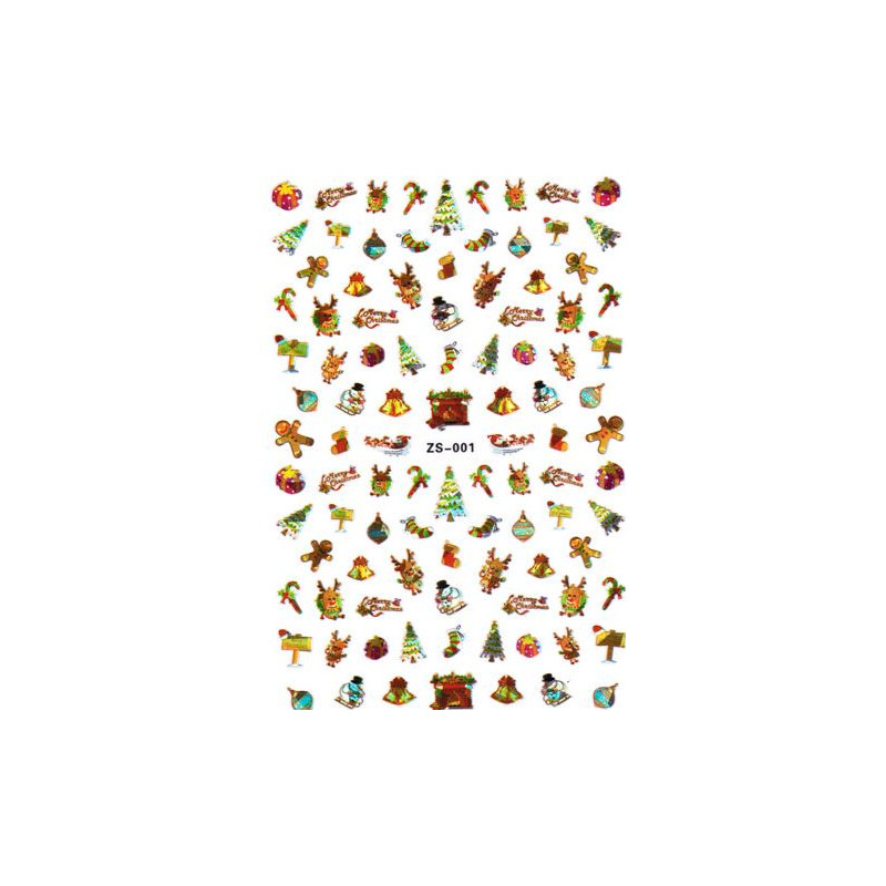 Stickers Noël ZS-001