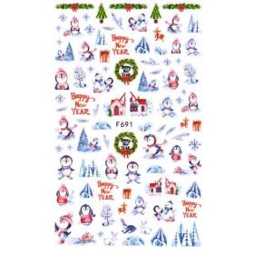 Stickers Noël F691
