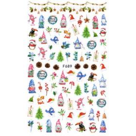 Stickers Noël F689
