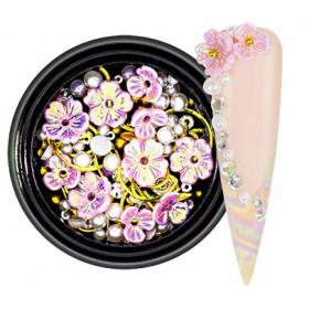 Fleurs 3D Pink
