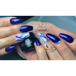 Gel couleur 332 Galaxy Bleu