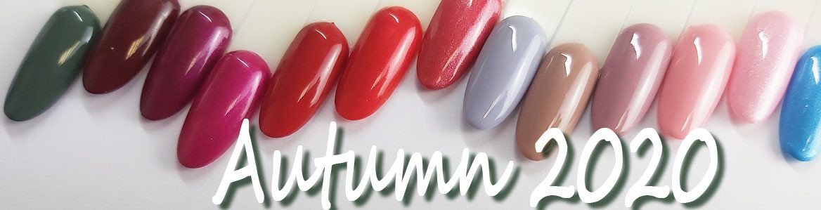 Gels Couleurs Collection Automne